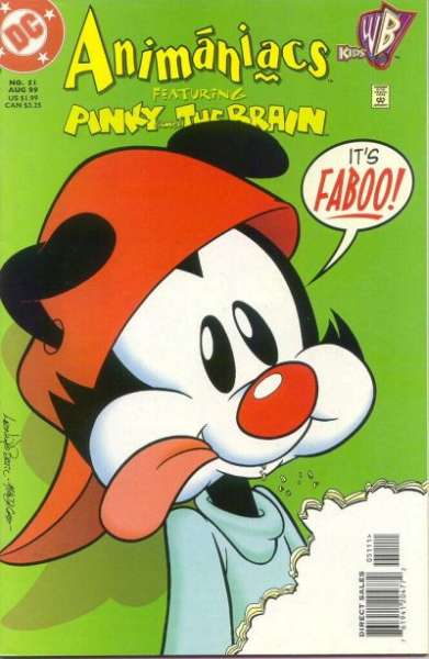 Animaniacs #51 Comic Books - Covers, Scans, Photos  in Animaniacs Comic Books - Covers, Scans, Gallery