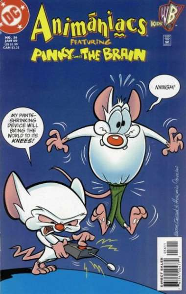 Animaniacs #56 Comic Books - Covers, Scans, Photos  in Animaniacs Comic Books - Covers, Scans, Gallery