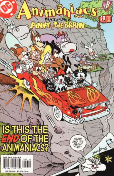 Animaniacs #59 Comic Books - Covers, Scans, Photos  in Animaniacs Comic Books - Covers, Scans, Gallery
