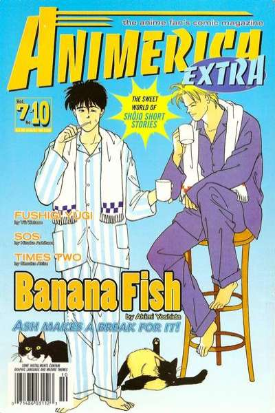 Animerica Extra: Volume 7 #10 comic books - cover scans photos Animerica Extra: Volume 7 #10 comic books - covers, picture gallery