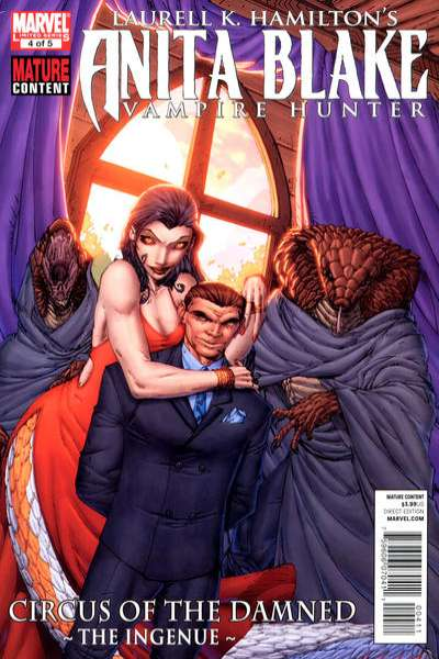 Anita Blake: Circus of the Damned - The Ingenue #4 comic books for sale