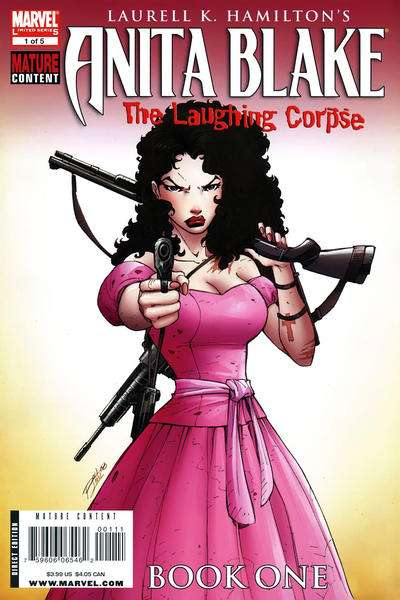 Anita Blake: The Laughing Corpse - Book One comic books