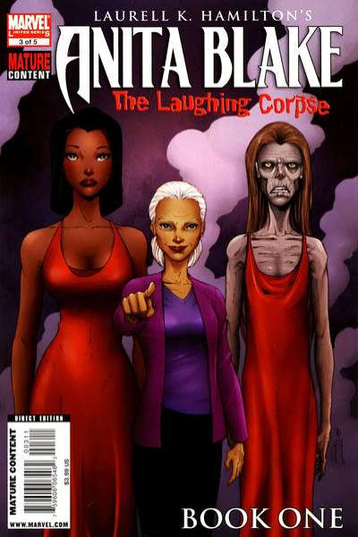 Anita Blake: The Laughing Corpse - Book One #3 Comic Books - Covers, Scans, Photos  in Anita Blake: The Laughing Corpse - Book One Comic Books - Covers, Scans, Gallery