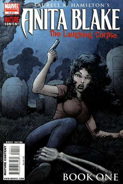 Anita Blake: The Laughing Corpse - Book One #4 comic books - cover scans photos Anita Blake: The Laughing Corpse - Book One #4 comic books - covers, picture gallery