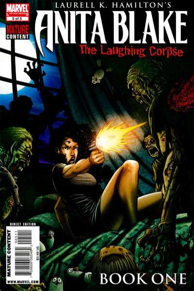 Anita Blake: The Laughing Corpse - Book One #5 Comic Books - Covers, Scans, Photos  in Anita Blake: The Laughing Corpse - Book One Comic Books - Covers, Scans, Gallery