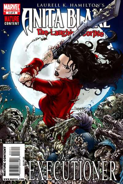 Anita Blake: The Laughing Corpse - Executioner #3 Comic Books - Covers, Scans, Photos  in Anita Blake: The Laughing Corpse - Executioner Comic Books - Covers, Scans, Gallery