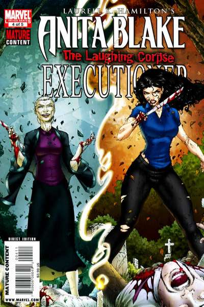 Anita Blake: The Laughing Corpse - Executioner #4 comic books - cover scans photos Anita Blake: The Laughing Corpse - Executioner #4 comic books - covers, picture gallery