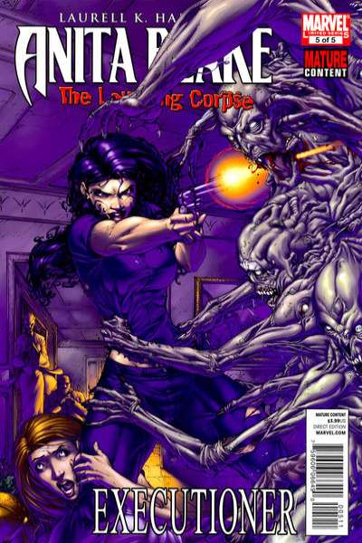 Anita Blake: The Laughing Corpse - Executioner #5 Comic Books - Covers, Scans, Photos  in Anita Blake: The Laughing Corpse - Executioner Comic Books - Covers, Scans, Gallery