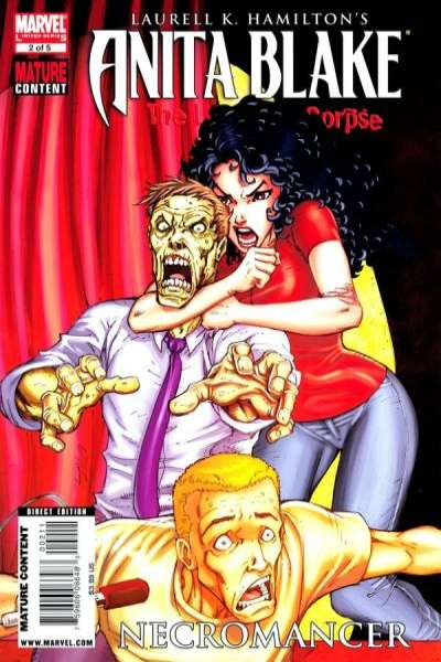 Anita Blake: The Laughing Corpse - Necromancer #2 comic books for sale