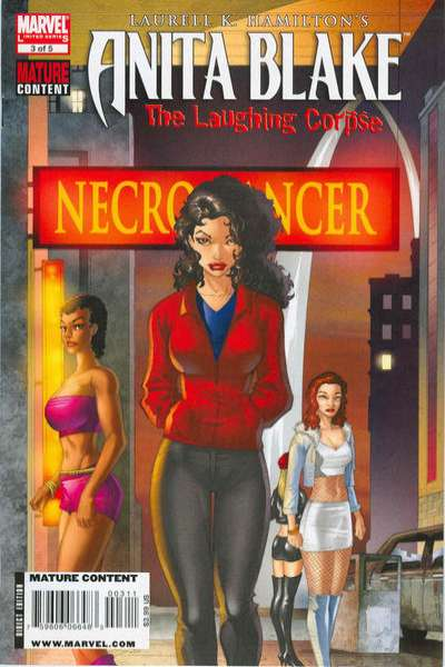 Anita Blake: The Laughing Corpse - Necromancer #3 comic books for sale