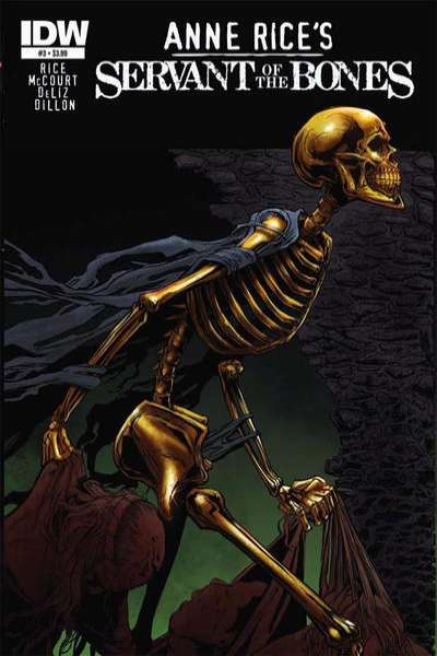 Anne Rice's Servant of the Bones #3 comic books - cover scans photos Anne Rice's Servant of the Bones #3 comic books - covers, picture gallery