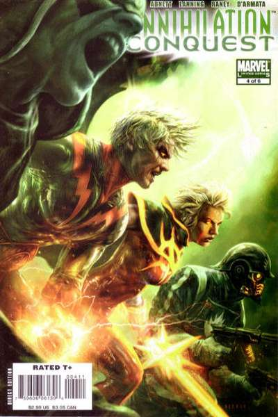 Annihilation Conquest #4 comic books - cover scans photos Annihilation Conquest #4 comic books - covers, picture gallery