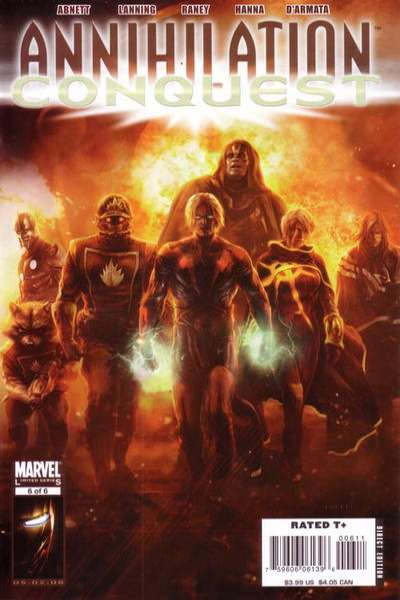 Annihilation Conquest #6 Comic Books - Covers, Scans, Photos  in Annihilation Conquest Comic Books - Covers, Scans, Gallery