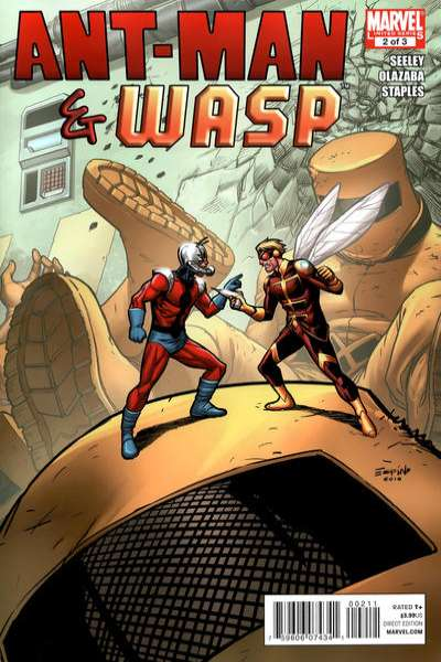 Ant-Man & Wasp #2 Comic Books - Covers, Scans, Photos  in Ant-Man & Wasp Comic Books - Covers, Scans, Gallery