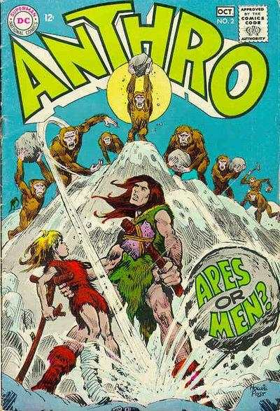 Anthro #2 comic books for sale