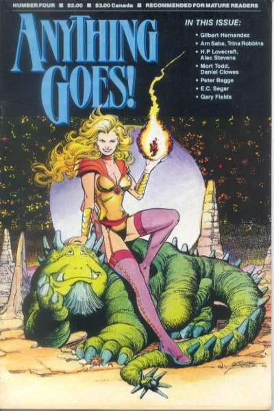 Anything Goes #4 comic books - cover scans photos Anything Goes #4 comic books - covers, picture gallery