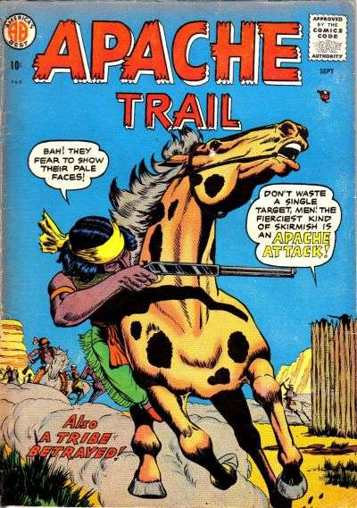 Apache Trail comic books