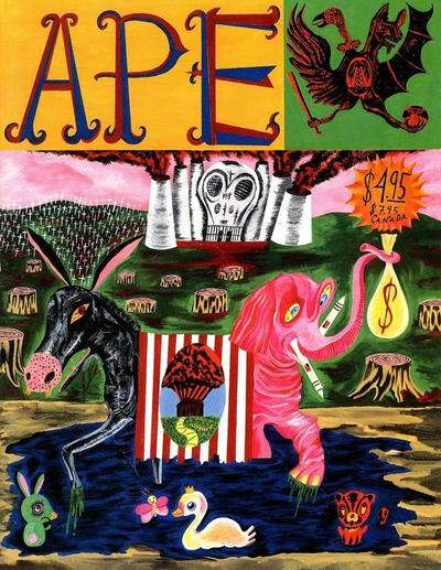 Ape #1 comic books - cover scans photos Ape #1 comic books - covers, picture gallery