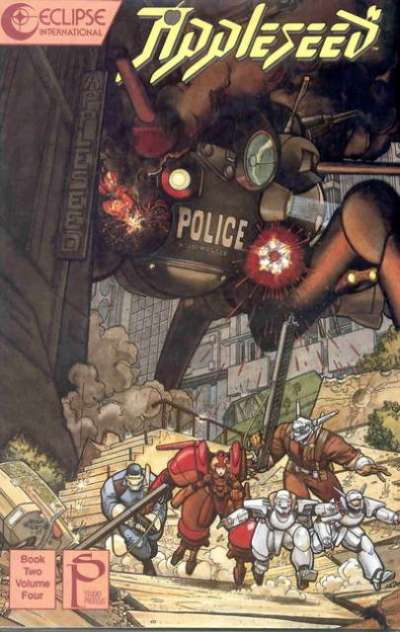 Appleseed: Book 2 #4 cheap bargain discounted comic books Appleseed: Book 2 #4 comic books