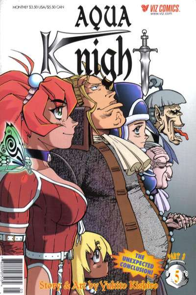 Aqua Knight: Part 3 #5 Comic Books - Covers, Scans, Photos  in Aqua Knight: Part 3 Comic Books - Covers, Scans, Gallery
