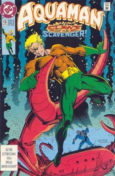 Aquaman #13 comic books - cover scans photos Aquaman #13 comic books - covers, picture gallery
