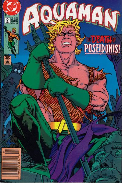 Aquaman #2 comic books - cover scans photos Aquaman #2 comic books - covers, picture gallery