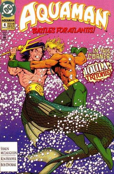Aquaman #4 comic books - cover scans photos Aquaman #4 comic books - covers, picture gallery