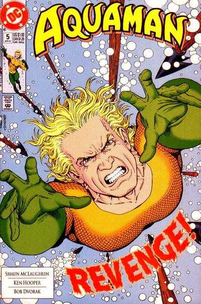 Aquaman #5 comic books - cover scans photos Aquaman #5 comic books - covers, picture gallery