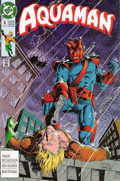Aquaman #8 comic books - cover scans photos Aquaman #8 comic books - covers, picture gallery