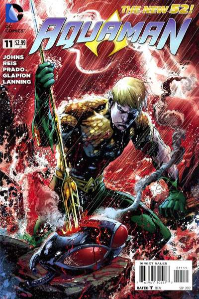 Aquaman #11 Comic Books - Covers, Scans, Photos  in Aquaman Comic Books - Covers, Scans, Gallery