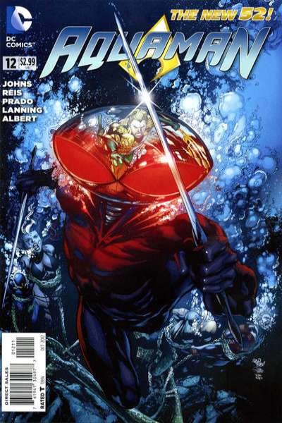 Aquaman #12 Comic Books - Covers, Scans, Photos  in Aquaman Comic Books - Covers, Scans, Gallery