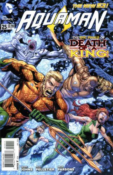 Aquaman #25 comic books for sale