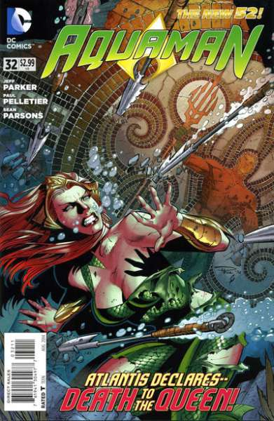 Aquaman #32 comic books - cover scans photos Aquaman #32 comic books - covers, picture gallery