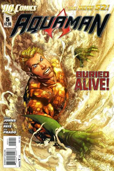Aquaman #5 comic books for sale