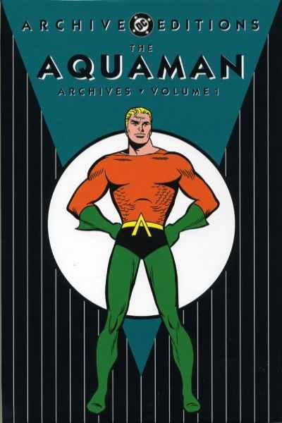 Aquaman Archives - Hardcover #1 Comic Books - Covers, Scans, Photos  in Aquaman Archives - Hardcover Comic Books - Covers, Scans, Gallery