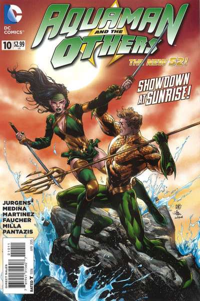 Aquaman and the Others #10 comic books for sale