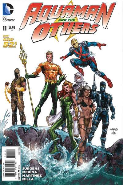 Aquaman and the Others #11 comic books for sale