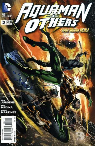 Aquaman and the Others #2 comic books for sale