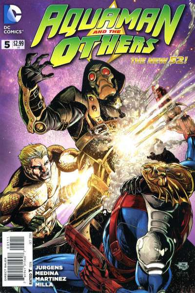 Aquaman and the Others #5 comic books for sale