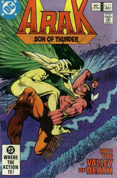 Arak/Son of Thunder #11 comic books - cover scans photos Arak/Son of Thunder #11 comic books - covers, picture gallery