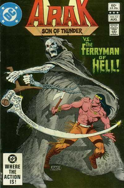 Arak/Son of Thunder #12 Comic Books - Covers, Scans, Photos  in Arak/Son of Thunder Comic Books - Covers, Scans, Gallery
