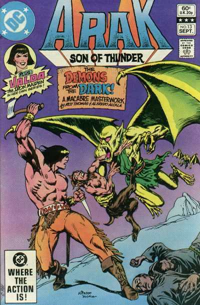 Arak/Son of Thunder #13 comic books - cover scans photos Arak/Son of Thunder #13 comic books - covers, picture gallery