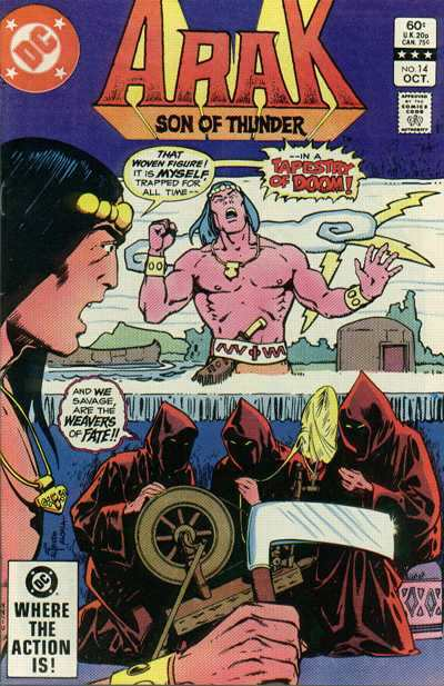 Arak/Son of Thunder #14 comic books - cover scans photos Arak/Son of Thunder #14 comic books - covers, picture gallery
