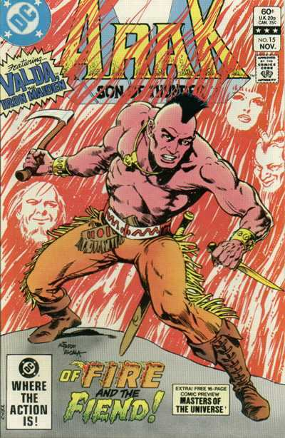 Arak/Son of Thunder #15 comic books - cover scans photos Arak/Son of Thunder #15 comic books - covers, picture gallery