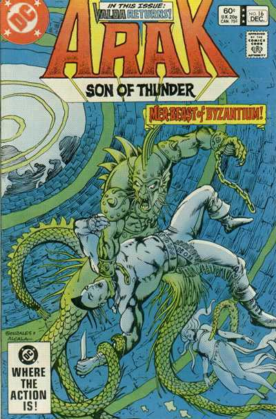 Arak/Son of Thunder #16 comic books - cover scans photos Arak/Son of Thunder #16 comic books - covers, picture gallery