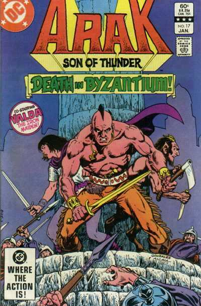 Arak/Son of Thunder #17 comic books - cover scans photos Arak/Son of Thunder #17 comic books - covers, picture gallery