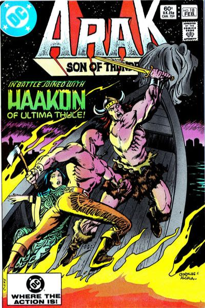 Arak/Son of Thunder #18 comic books for sale