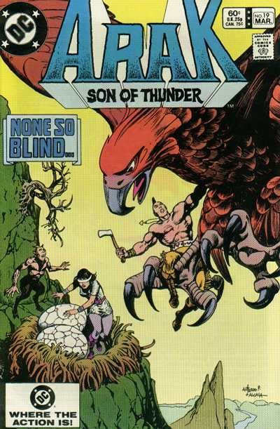 Arak/Son of Thunder #19 comic books - cover scans photos Arak/Son of Thunder #19 comic books - covers, picture gallery