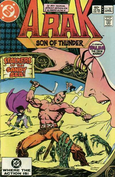 Arak/Son of Thunder #20 Comic Books - Covers, Scans, Photos  in Arak/Son of Thunder Comic Books - Covers, Scans, Gallery