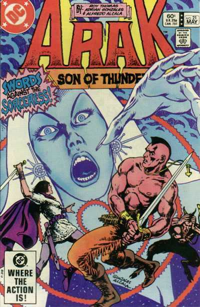 Arak/Son of Thunder #21 comic books - cover scans photos Arak/Son of Thunder #21 comic books - covers, picture gallery